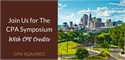 Announcing the 2016 CPA Symposium with CPE Credits