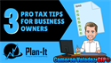 3 Pro Tips for the 20% Qualified Business Income Deduction