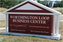 Worthington Loop Business Center Sign