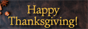 Have a Happy and Blessed Thanksgiving !