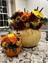 Carolyn's Thanksgiving Floral Arrangement Tutorial