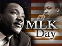 Martin Luther King Jr. Day Closing