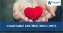 Charitable Contribution Limits