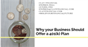 Why Your Business Should Offer a 401(k) Plan