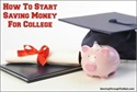 Getting a Head Start on College Savings