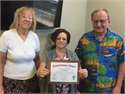 Clients Award SFM Staff Member for Perseverance