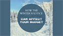How the Winter Solstice Can Impact Your Budget
