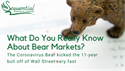 What Do You Really Know About Bear Markets?