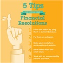 Five Tips for Keeping Your Financial Resolutions