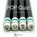 Pop Quiz!—Tax Planning Basics
