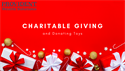 Charitable Giving and Donating Toys