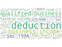 How do CRNA's qualify for the new business income deduction?