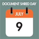 Document Shred Day July 9th at FAS