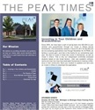 The Fall 2018 Peak Times Newsletter is Available Now!