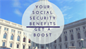Your Social Security Benefits Get A Boost