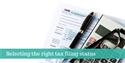 Choosing an Income Tax Filing Status
