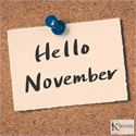 Turning the calendar from October to November