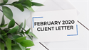 February 2020 Client Letter