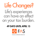 Preparing for April 15: Life's Experiences Make a Difference.