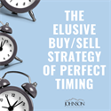 The Elusive Buy/Sell Strategy of Perfect Timing