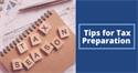 Tips for Tax Preparation