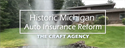 Michigan Auto Insurance Reform 2019 Introduction