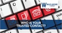 Who Is Your Trusted Contact?
