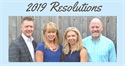 Madison Financial Planning's 2019 Resolutions