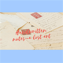 A Rare Commodity~Handwritten Notes