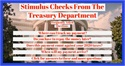 Stimulus Checks From The Treasury Department
