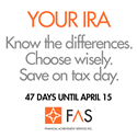 Preparing for April 15: All About IRAs
