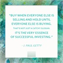 This is successful investing WednesdayWisdom Invest Success JPaulGetty