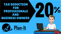 20% Tax Deduction for Small-Business Owners!