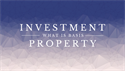 Basis of Investment Property