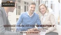 "Marriage Financing for  ""Generation Xers"""