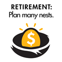 Retirement Planning Part 2 of 4: Don't put all of your eggs in one nest