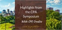 Highlights from the 2016 CPA Symposium
