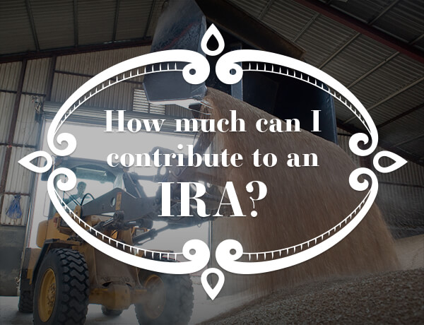 <p>Contributing to an IRA?</p>
