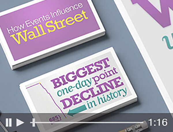 <p>Events on Wall Street</p>