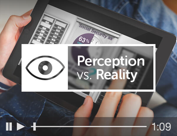 <p>Perception vs. Reality</p>