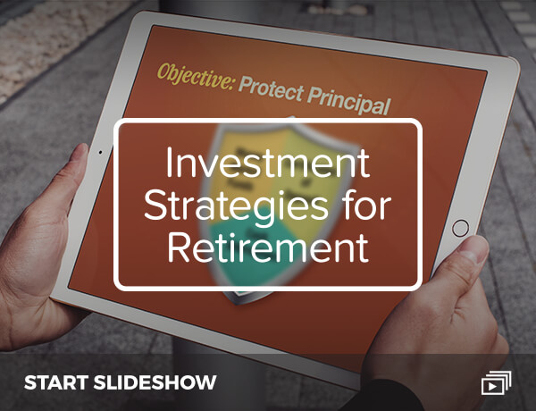 <p>Investment Strategies for Retirement</p>