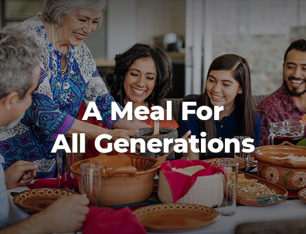 A Meal for All Generations