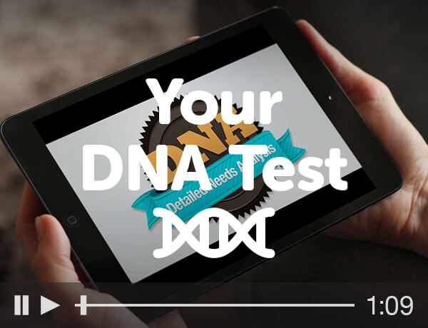 <p>Your DNA Test</p>
