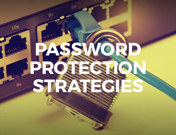 <p>Password Protection Strategies</p>