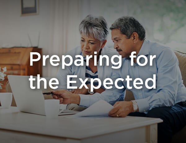 <p>Planning for the Expected</p>