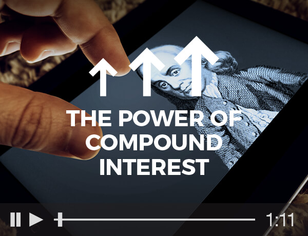 <p>The Power of Compound Interest</p>