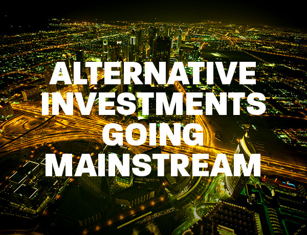 <p>Alternative Investments - Going Mainstream</p>