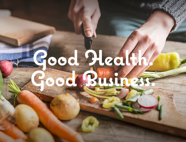 <p>Good Health is Good Business</p>
