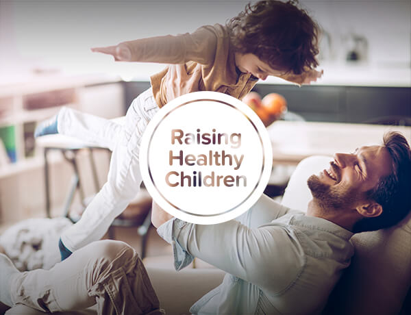 <p>Raising Healthy Children</p>