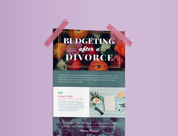 <p>Budgeting After a Divorce</p>